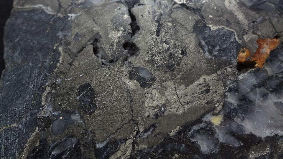 Pyrit - Stříbro ( Sytno )